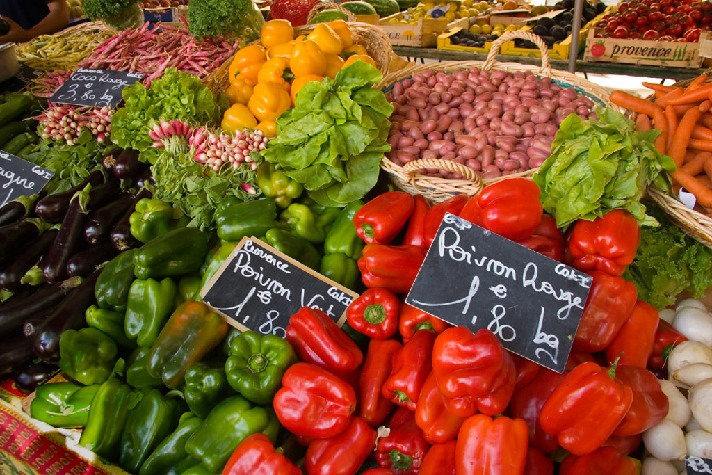 Produce Market, Aix-en-Provence, France