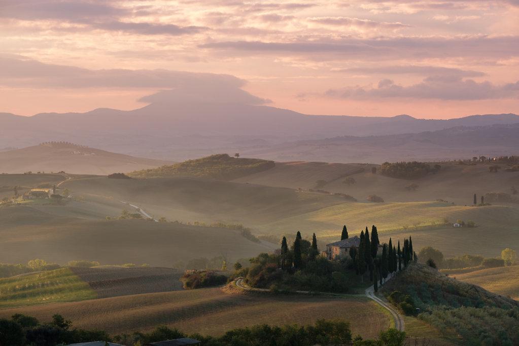 Val d'Dorcia, Tuscany