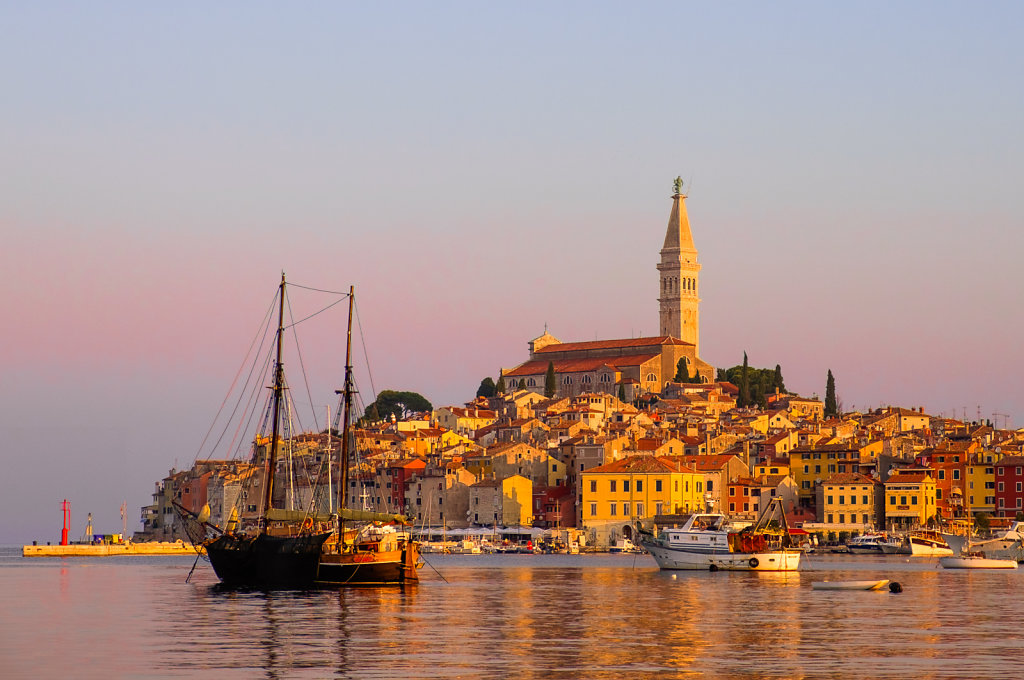 Sunrise, Rovinj, Croatia
